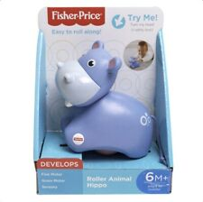 Fisher And Price Roller Hippo