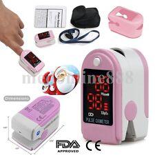 LED Heart Pulse Rate Blood Oxygen Finger Tip Oximeter SPO2 Saturation Monitor US