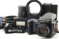 🔸MINT🔸 Mamiya 645 Pro Sekor C 80mm f2.8 AE Finder 120 2Film Backs Bonus Japan