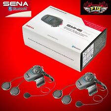 SENA SMH5D-UNIV Full & Open Face Helmet Motorcycle Bluetooth Headset Intercom