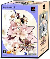 Brand New Fate/unlimited codes SP-BOX figma SP-004 SABER LILY + PS2 Game