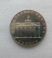 DDR: Gedenkmünze 5 Mark 1971 Brandenburger Tor, f. Stempelglanz !!