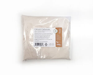 Calcium Carbonate 500g - Ultra Fine Chalk Powder