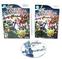 Super Smash Bros. Brawl (Nintendo Wii, 2008) - Complete w/Manual CIB - Tested -