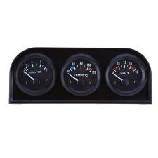 Car Auto Gauge Voltmeter Water Temperature Oil Pressure Sensor Triple Kit IFR