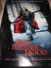 RED RIDING HOOD 2011 DS 2 Sided 4x6 Bus Shelter Posters Set of 2 Amanda Seyfried