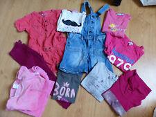 Lot de 10 vêtements fille taille 5 ans (DPAM, Petit Bateau, Okaidi, H&M...)