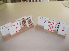Solid Oak Card Holders - A set of holders (2 pcs.)