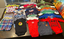 3-6 Month boy Clothing Lot- 28 Pieces - All Seasons - Less Than $1 Per Item