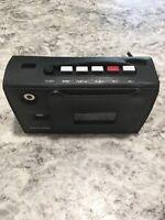 Vintage Realistic Portable Cassette Player Recorder CTR 25 w/Carry Case Repair