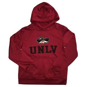 UNLV Running Rebels Red Pullover Hoodie Youth Size Medium