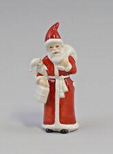 9942813 Wagner&Apel Porzellan Figur Weihnachtsmann Santa Claus  H11,5cm