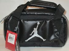 NIKE JORDAN LUNCH BAG  INSULATED 9A1848-023 BLACK/SILVER COLOR