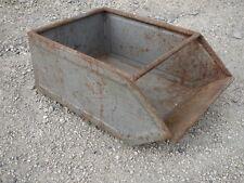 Ancienne caisse en fer tiroir métal déco atelier usine garage old iron drawer