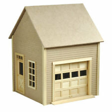 Dolls House Miniature 1/12th Scale Flat Pack Garage Kit Self Assembly HW9997