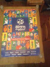 CHAMPIONNATS D'EUROPE DE UEFA EURO 1996 ANGLETERRE SITE OFFICIEL AFFICHE