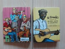 R. CRUMB – ''HEROES OF BLUES, JAZZ & COUNTRY''.  BOOK & CD