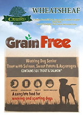 Wheatsheaf 15kg Grain ' Senior Dog Trout With Salmon Sweet Potato & Working