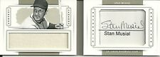 STAN MUSIAL CUT SIG AUTO JUMBO PATCH BOOK #01/10 2014 NATIONAL TREASURES