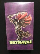 Warlord Saga Of The Storm Betrayal Booster Box - Factory Sealed