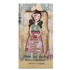 Kelly Rae Roberts 1002720250 Hope and Healing Angel Ornament Card