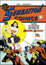 DC Comics Photo Quality Magnet: Sensation Comics #1 Cover Reproduction