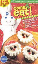 COME & EAT PILLSBURY COOKBOOK NOV. 1999 VOL.1 NO.1 SAUSAGE BRUNCH PIZZA, DESSERT