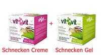 SET 50 ml BIO Gesichtscreme + 50 ml BIO Gesichtsgel Schneckenschleim Anti Aging