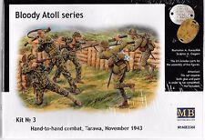 MB WWII Japanese Infantry Hand to Hand Combat US Marines, Tarawa 1943 1/35 44 ST