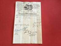 Blythswood Sausage Works Charing Cross 1894  Illustrated receipt R33076