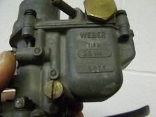 Fiat 600 Multipla  used caburator  Weber 26 IM  Microcar