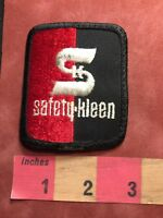 Vtg (circa 1980s / 90s) SAFETY KLEEN Advertising Patch 85N2