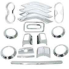 Interior Accessories Parts Trim For Jeep Wrangler JK Unlimited Cab 4 Door Silver