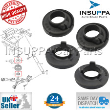 4X REAR UPPER AND LOWER SPRING MOUNT PAD SET FOR VW TRANSPORTER MK5 T5 MULTIVAN
