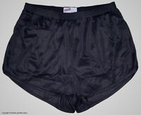 Soffe Black Nylon Ranger Panties / Silkies / Running / Track Shorts Men's Medium