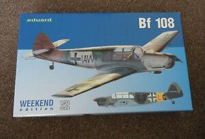 Eduard 3404 1/32 Messerschmitt Bf 108 Taifun, Plastic Model Kit,  Brand New