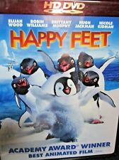 Happy Feet HD DVD NEW! Robin Williams,Nicole Kidman,Hugh Jackman, Academy Winner