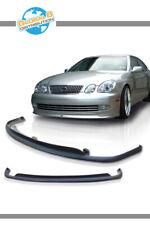 Global 8 Polyurethane Front Bumper Lip for 1998-2005 Lexus GS300/400 TTE Style