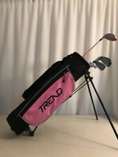 For Girls age 9-12 Driver irons bag Putter PINK Junior Golf Girl Trend Club Set