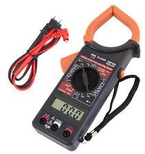 Pince ampèremétrique digitale AC / DC multimètre voltmètre ampèremètre testeur
