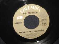 "Chi Coltrane ""Time To Come InThunder and Lightning"" 45"