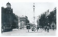 London SHEPHERDS BUSH GREEN Tram Photograph Packer c1950/60s? print