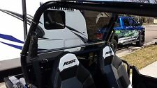 """POLARIS RZR FULL REAR WINDOW TINTED 570,800 *ALL YEARS* 1/4"""" POLYCARBONATE"""