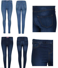 Unbranded Regular Size Mid-Rise Cotton Jeans for Women