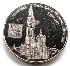 Belgian Heritage Collectors Coin ANTWERPEN 2011 31mm 13g Alpaca E9.6