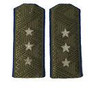 Soviet WW2 style NKVD 3-star General field shoulder boards