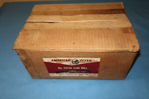 Original Box w/2 Inserts for America Flyer #23796 Operating Sawmill