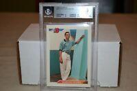 1992 Bowman Baseball #302 Mariano Rivera Rookie Card RC BGS Mint 9 Yankees '92
