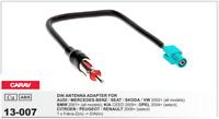 CARAV 13-007 Conector Fakra -> DIN Adaptador Antena Radio AUDI SEAT SKODA VW BMW