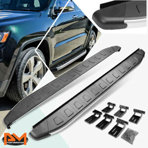 """For 11-18 Jeep Grand Cherokee Aluminum 5.75"""" Side Step Nerf Bar Running Board"""
